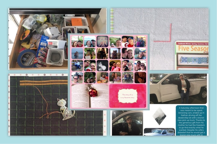 Sunday Stitches & Stuff – Mystery SAL, Valentine's Day Gift, Junk Drawer, & ATruck